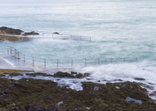 Natural Pool in Guernsey Royalty Free Stock Image