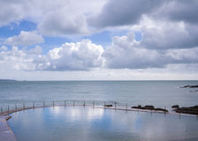 Natural Pool in Guernsey Stock Photography