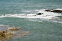 Natural Pool in Guernsey Stock Images