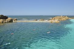 Free Natural Pool In The Atlantic Ocean Royalty Free Stock Photos - 59944218