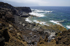 Natural pools Charco Los Sargos, El Hierro, Canary, Spain. Stock Image