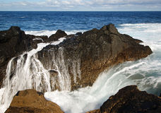 Natural Pools in Garachico Stock Photography