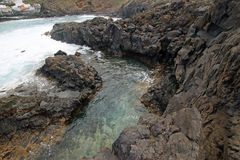 Natural Pools in Garachico Royalty Free Stock Photography