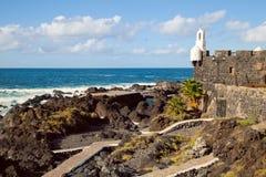 Natural Pools of Garachico, Tenerife Royalty Free Stock Image