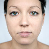 Natural portrait Stock Image