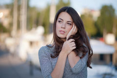 Natural portrait Royalty Free Stock Photography