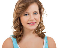 Natural portrait of a pretty young woman Stock Photo