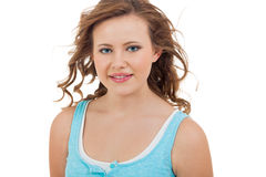Natural portrait of a pretty young woman Royalty Free Stock Photos