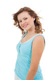 Natural portrait of a pretty young woman Stock Photography