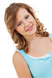 Natural portrait of a pretty young woman Royalty Free Stock Image