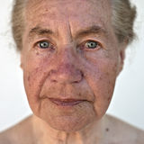 Natural portrait of a senior Stock Photography
