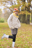 Natural portrait of young little girl in the park§ Stock Images
