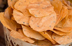 Natural potato chips Stock Photography
