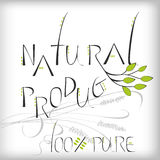 Natural Product Royalty Free Stock Photography