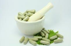 Natural product alternative herbal medicine Royalty Free Stock Image