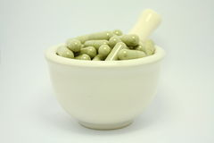Natural product alternative herbal medicine Royalty Free Stock Photography