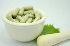 Natural product alternative herbal medicine Stock Photo