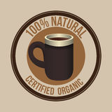 Natural product  design Royalty Free Stock Images