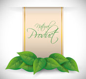 Natural product design. Royalty Free Stock Photography