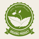 Natural product. Design, vector illustration eps10 graphic Royalty Free Stock Image