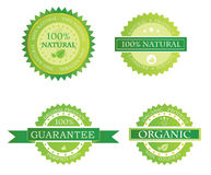 Natural product or food label Royalty Free Stock Photos