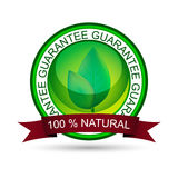 Natural product  icon, label or badge Stock Images