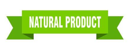 Natural product ribbon. Natural product banner. sign. natural product vector illustration