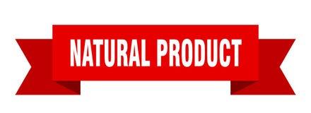 Natural product ribbon. Natural product banner. sign. natural product royalty free illustration