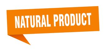 Natural product speech bubble. Natural product sign. natural product vector illustration