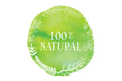 Natural product. Vector Stock Photos