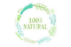 Natural product. Vector Royalty Free Stock Image