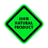 Natural product vector sticker. Isolated royalty free illustration