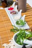 Natural products for aromatherapy Royalty Free Stock Photos