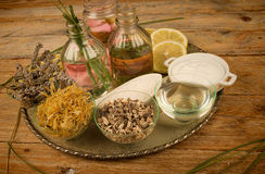 Natural products assorment Royalty Free Stock Photo