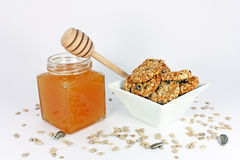 Natural products made of honey Royalty Free Stock Photography