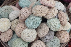 Natural pumice stone Stock Photo