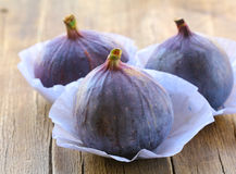 Natural purple ripe figs Royalty Free Stock Image