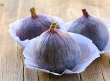 Natural purple ripe figs Royalty Free Stock Image