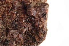 Natural pyrope garnet mineral Stock Image
