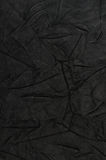 Natural qualitative black leather Royalty Free Stock Photo