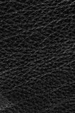 Natural qualitative black leather Stock Photo