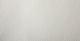 Natural qualitative white leather texture Royalty Free Stock Photo
