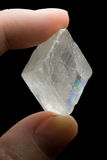 Natural Quartz Crystal Stock Photography