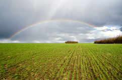 Natural rainbow Stock Photos
