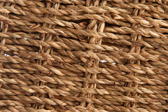 Natural rattan background Stock Images
