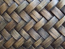 Natural rattan texture stock image