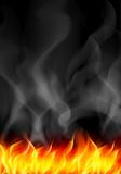 Natural Real Of Flame Stock Photo