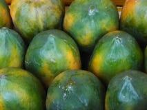 Natural real papaya background royalty free stock photo