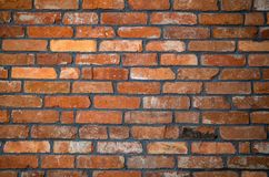 Natural red brick background stock images