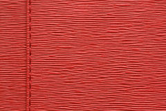 Natural red leather Stock Images